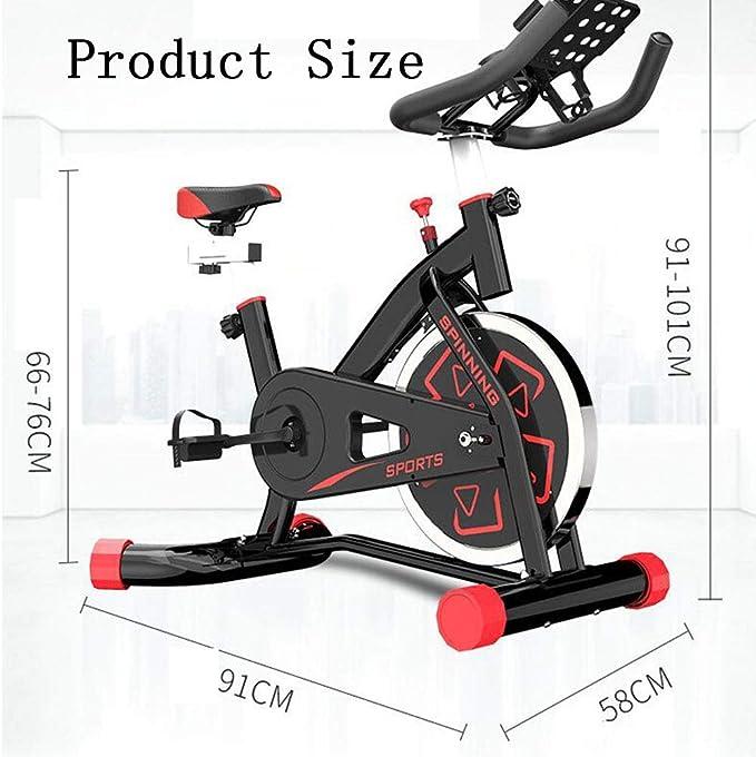Hongsheng Inicio Negro Bicicleta De Spinning - Aerobic Interior ...