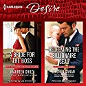 A Bride for the Boss & Redeeming the Billionaire SEAL: Texas Cattleman's Club: Lies and Lullabies Audiobook by Maureen Child, Lauren Canan Narrated by Lisa Zimmerman, Amy Landon
