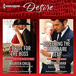 A Bride for the Boss & Redeeming the Billionaire SEAL Audiobook