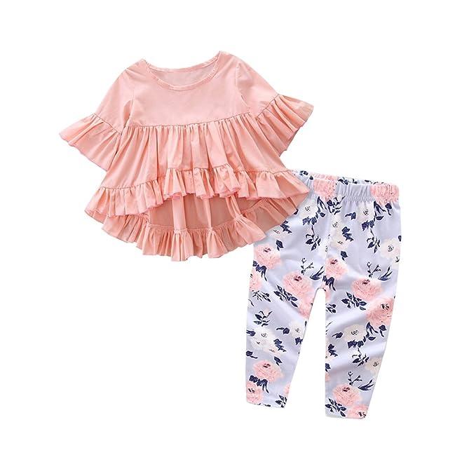 Amazon.com: KIDSA 0-3T - Juego de ropa para bebé, niñas ...