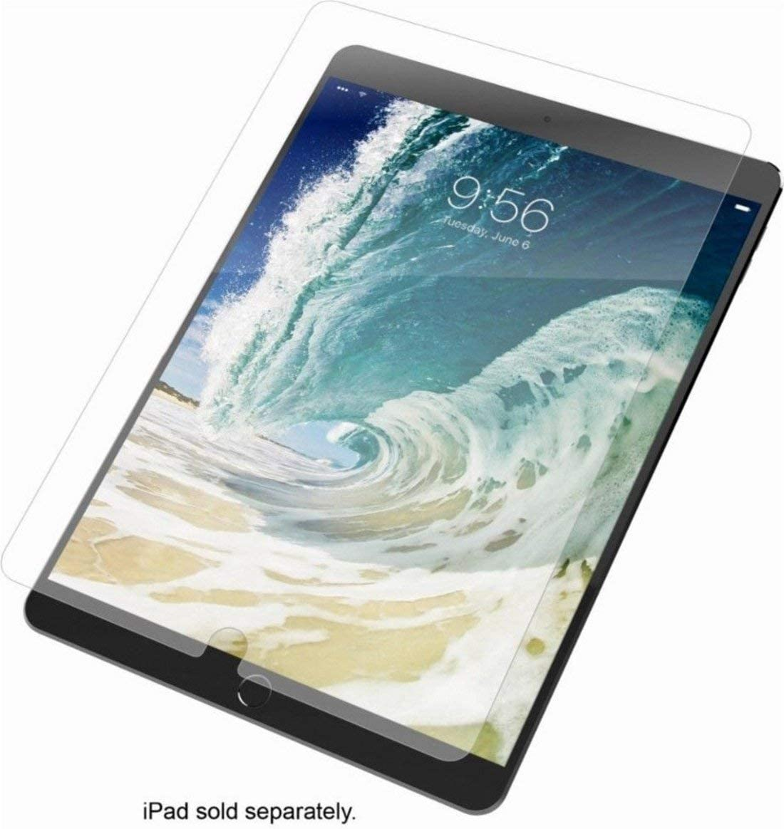 "ZAGG InvisibleShield HD Glass+ Screen Protector Anti Scratch for Apple 10.5"" iPad Pro (Clear)"