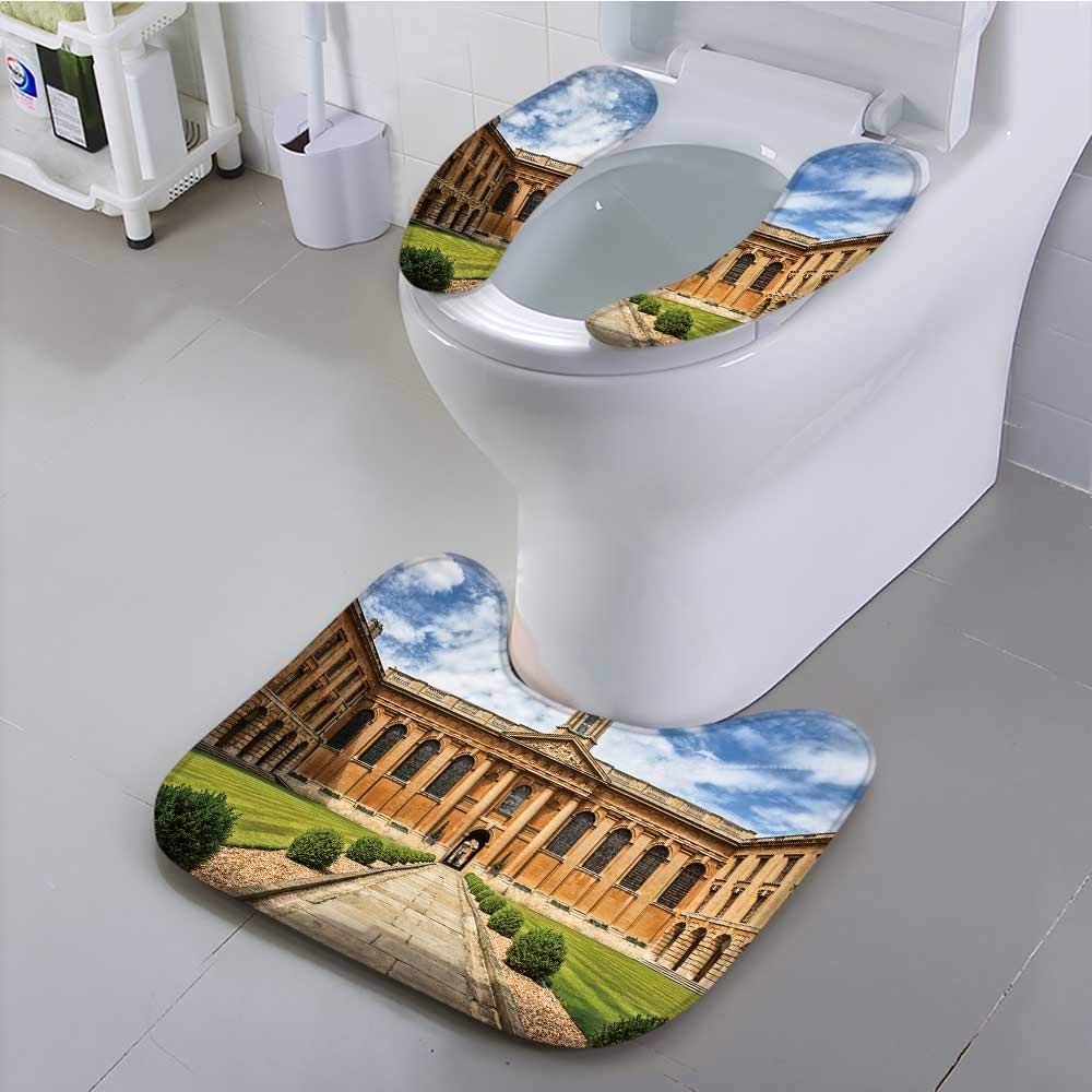 Jiahonghome Bathroom Contour Rugs Oxford University The Queen s College Health is Convenient