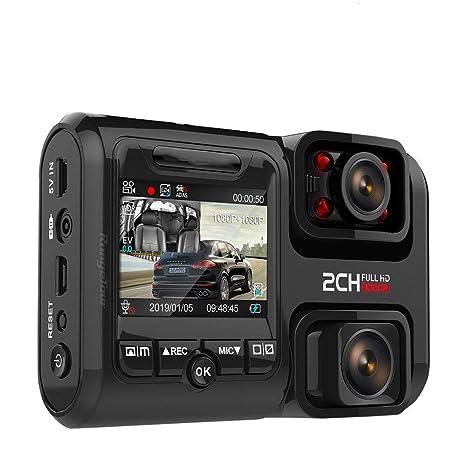 DINGDA Grabadora WiFi GPS Logger Dual Lens Car Dvr Chip ...