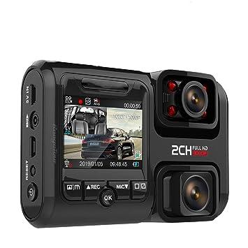 DINGDA Grabadora WiFi GPS Logger Dual Lens Car Dvr Chip Sensor ...