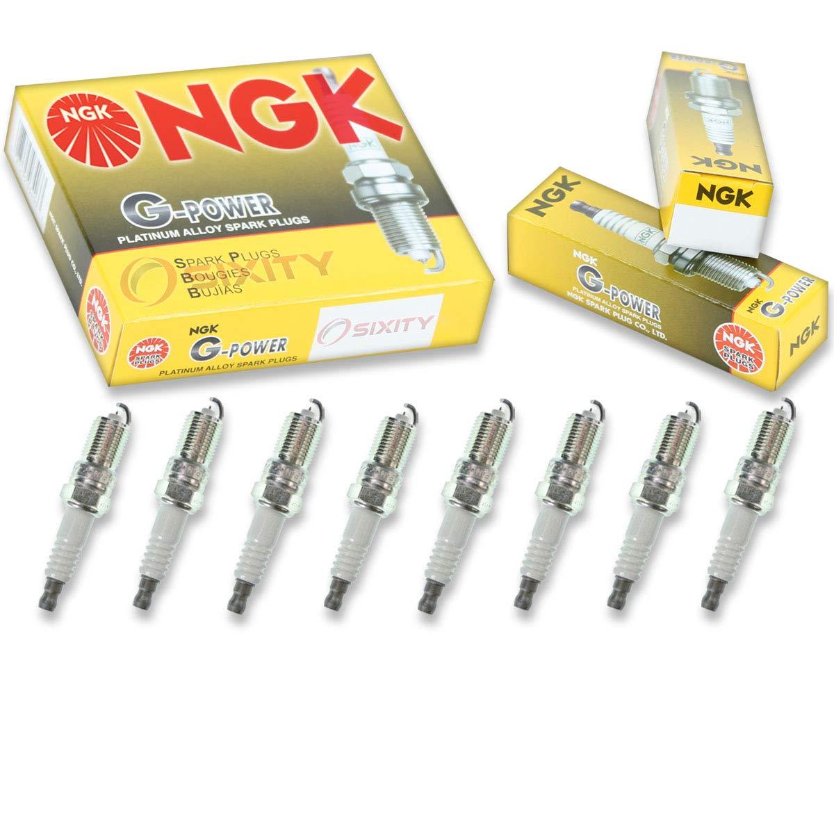 Amazon.com: NGK G-Power 8pcs Spark Plugs Ford F-250 Super Duty 99-04 5.4L V8 Kit Set: Automotive