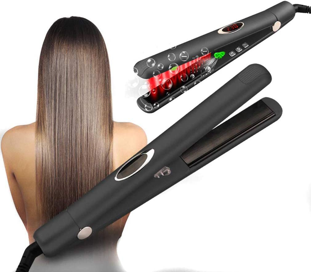 Professional Hair Straightener Flat Iron with Digital