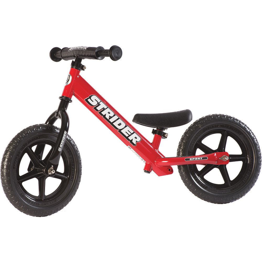Strider - 12 Sports Balance Bike, Ages 18 Months to 5 Years
