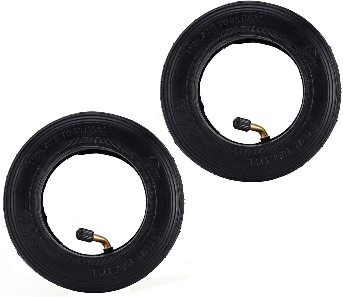Roller Skis Jenex V2 Wheelchair Caster 2 Set of 6 x 1.25 Tire Inner Tubes 6x1 1//4 Replacement for Pneumatic Scooter