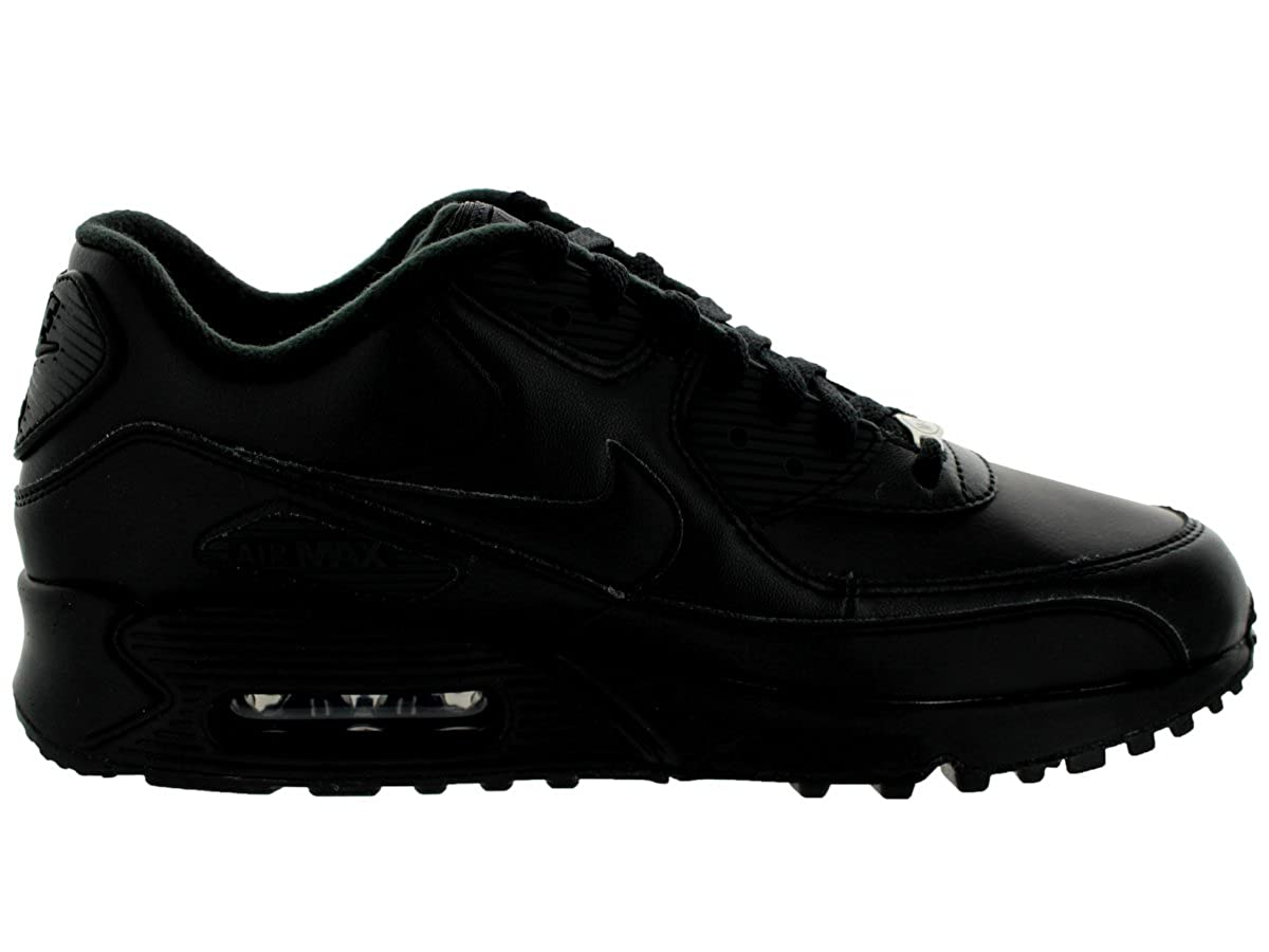 uk availability 5d2df 71496 Amazon.com   Nike Men s Air Max 90 Black 302519-001 (Size  7.5)   Road  Running