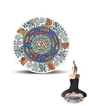 LW01yjd Estera de Meditación -Esterilla Yoga Antideslizante ...