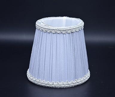 Lampenschirm Stoff Textil Birne Runde Kerze Kronleuchter Hängeleuchte  Wandleuchte Kristall Kronleuchter Lampenschirme Leinen Shabby Chic Landhaus