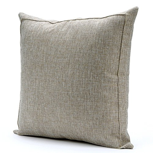 Ultrasoft Euro Square Decorative Sham Pillow White : Noblidonna 24