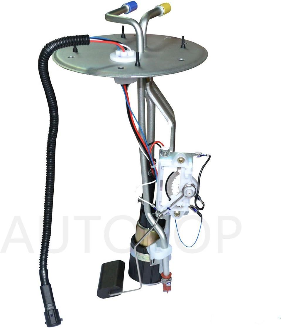 AUTOTOP 1pc Brand New Electric Intank Fuel Pump Module Assembly w// Sensor E3372M