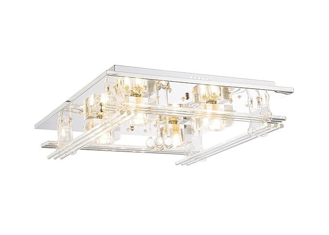 LED de techo lámpara de techo con mando a distancia con ...