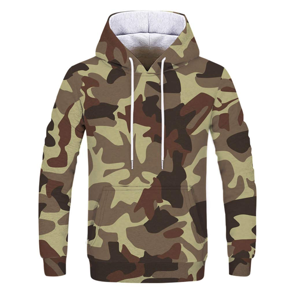 OSTELY Hoodie for Men Autumn Winter Fashion Loves Plus Size Plus Printing Hooded Long Sleeve Sweatshirt Pullover Top