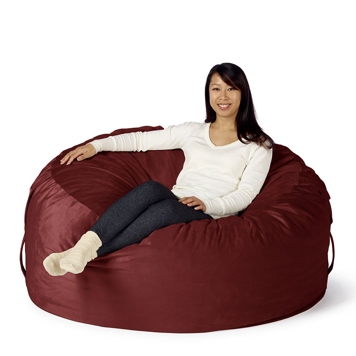 Amazon Take Ten Large 50 Luxury Bean Bag Chair Multiple Colors Seats 1 To 2 Adults Durable And Comfortable Kitchen Dining