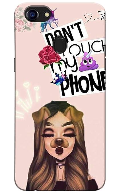 Pikkme Dont Touch My Phone Cute Girl Designer Amazonin