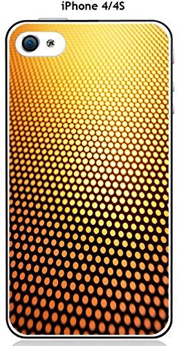 Cover Apple iPhone 4/4S Design Degrade oro & nero