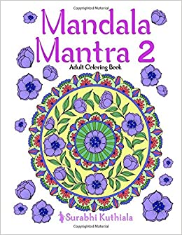 Buy Mandala Mantra 2 30 Handmade Meditation Mandalas With Mantras In Sanskrit And English Volume Mandla Book Online At Low Prices India
