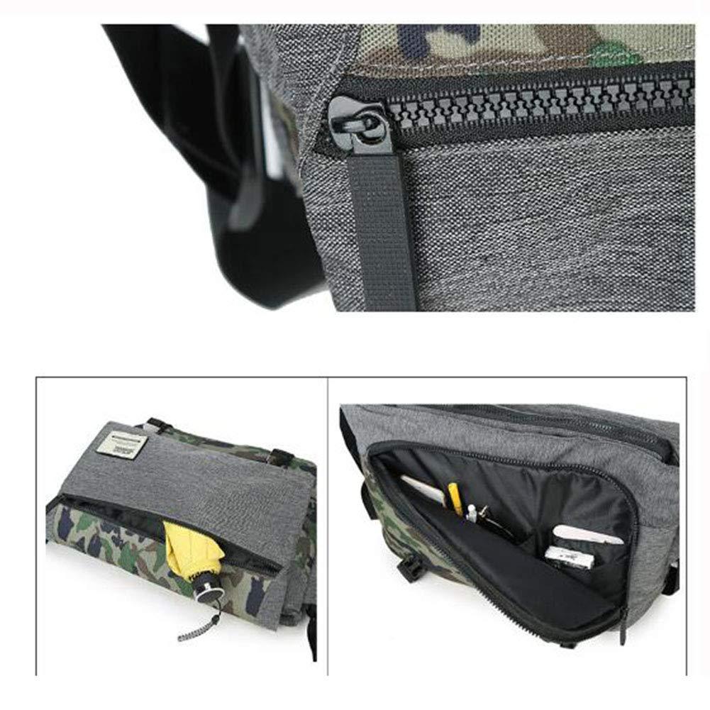 MZTYX Us Fashion Messenger Bag New Shoulder Bag Multi-Function Leisure Riding Bag Outdoor Large-Capacity Travel Bag