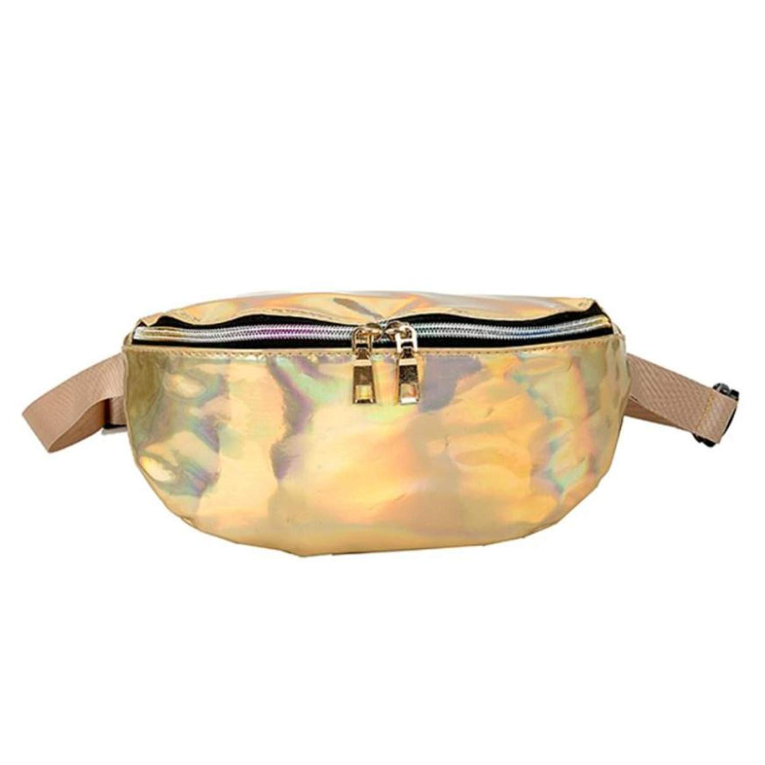 Amazon.com: Waist Bag Chest Bag Women Shouler Bag Fanny Pack ...