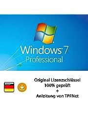 Microsoft® Windows 7 Pro 32 bit & 64 bit Vollversion Original Lizenzschlüssel per Post und E-Mail + Anleitung von TPFNet - Versand maximal 60Min