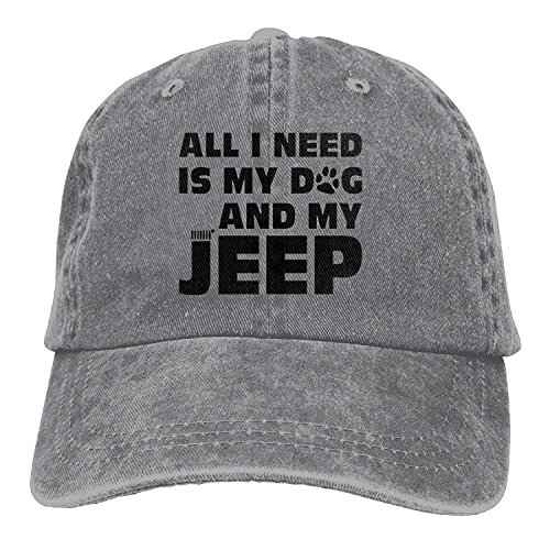 Hat All LuoKuan Need I Ash Cowboy Is Washed Baseball Dog My and My Cap Jeep Adjustable fdqdw6rE