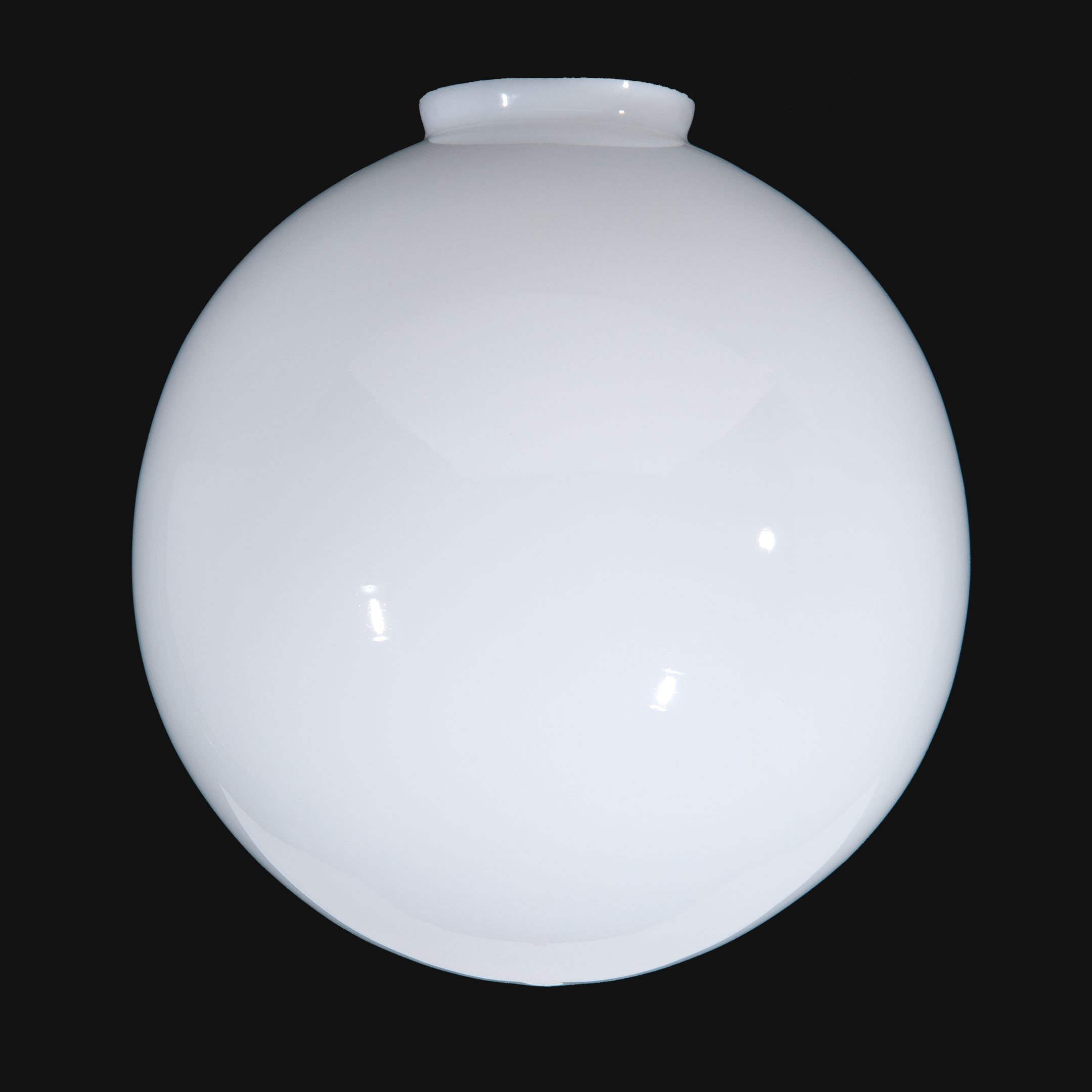B&P Lamp 12'' Opal Glass Ball Lampshade