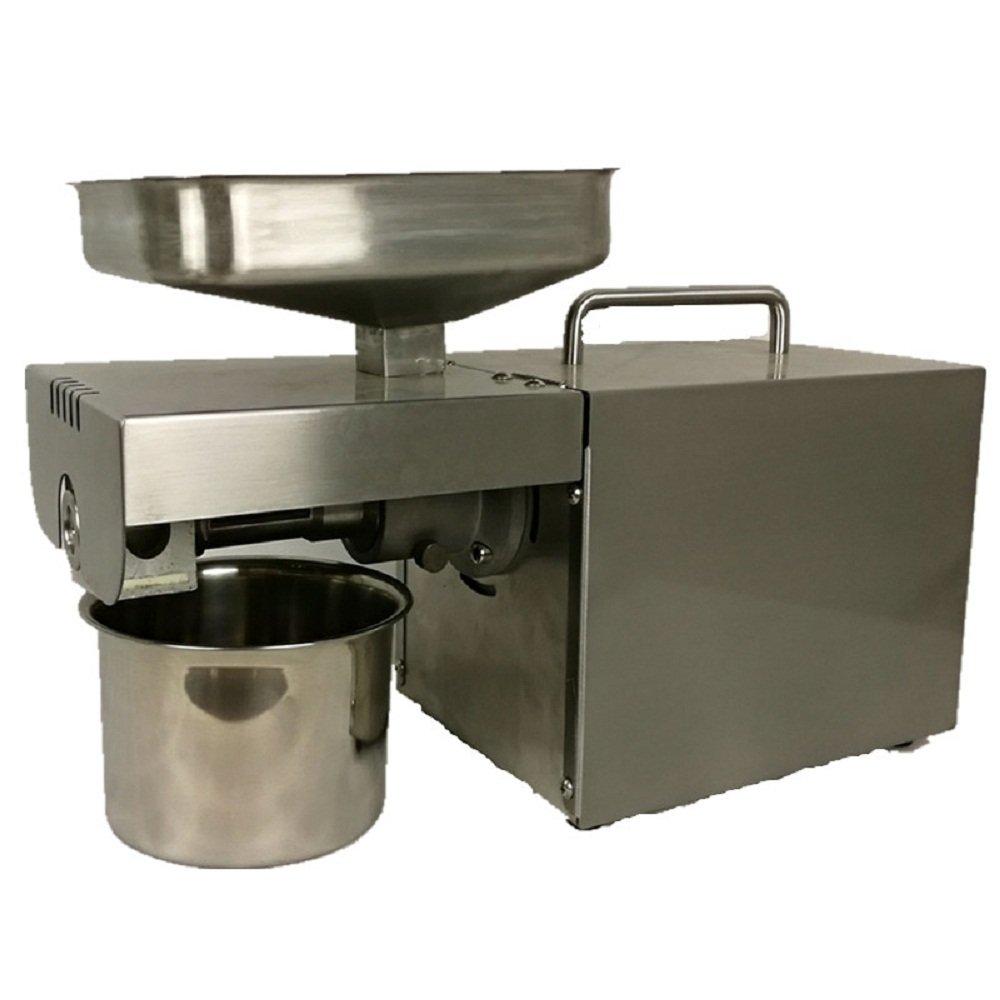 Mini 110V 220V Cold Oil Press Machine For Seed Peanut Sesame