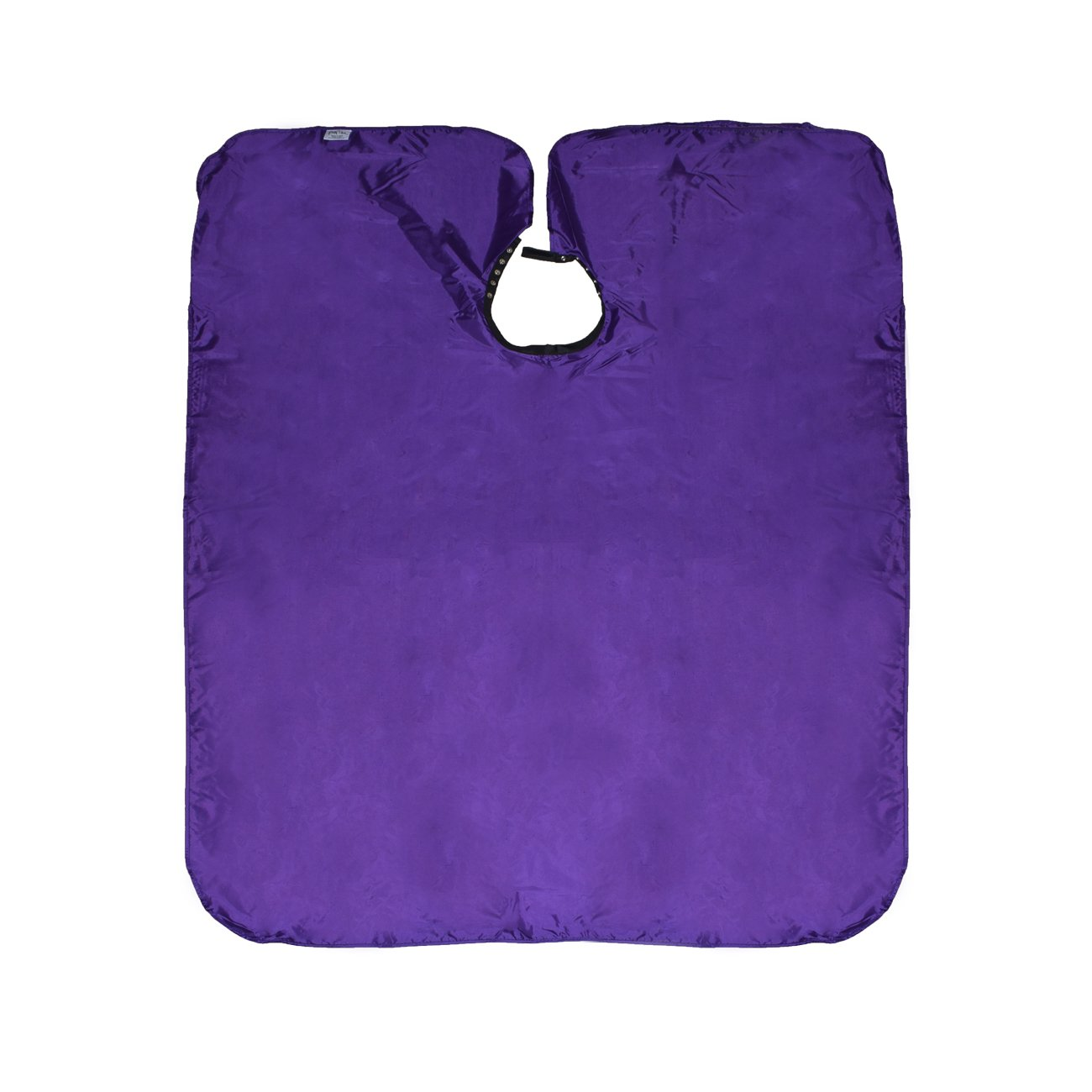Betty Dain Nylon Chemical Proof Coloring/Styling Cape with Velcro Closure, Purple