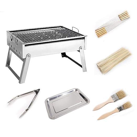 XUM Parrilla Plegable portátil del BBQ, Dispositivo de ...