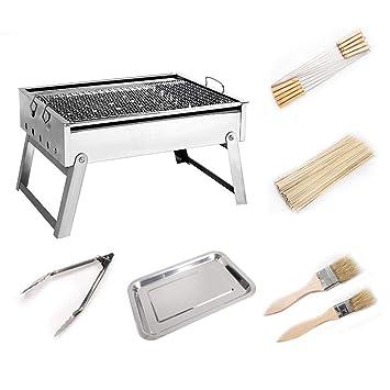 XUM Parrilla Plegable portátil del BBQ, Dispositivo de Cocina ...