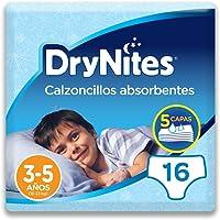 Drynites - Calzoncillos absorbentes, para niño de 3-5