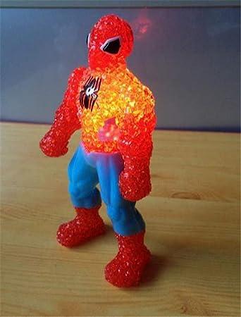 Amazon.com: Luz LED de Noche para los niños Anime Spider Man ...