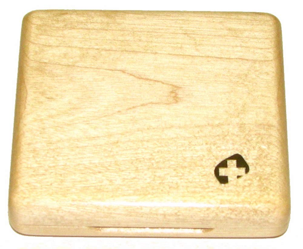 4-Reed Bassoon Reed Case Wood (Natural)