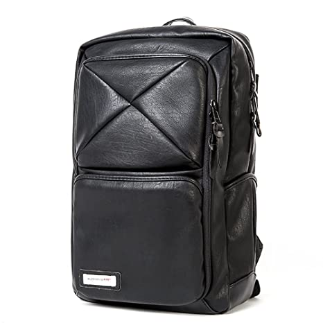 5e7e264fd012 Amazon.com: Vintage Leather Weekender Travel Backpack YKK Zippers ...