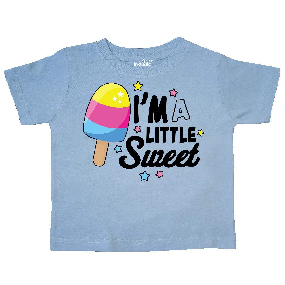 inktastic Im a Little Sweet with Ice Cream and Stars Toddler T-Shirt