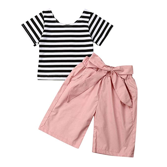 UK STOCK Infant Baby Girl Bodysuit Clothes Romper Jumpsuit Playsuit Outfit Set