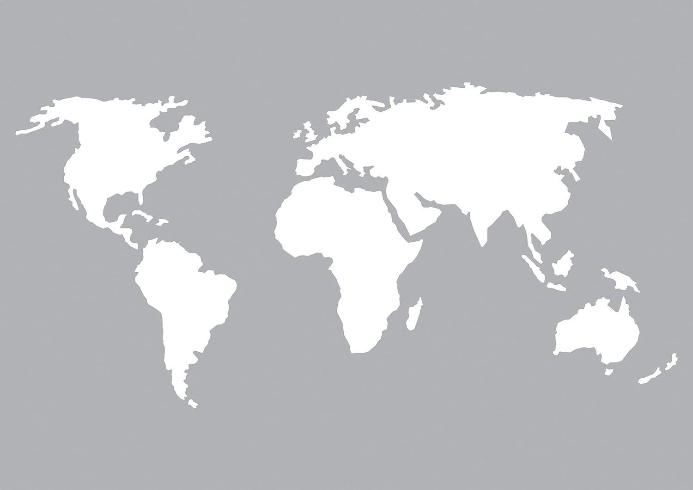 Schablone Weltkarte Din A5 Format Amazon De Küche Haushalt