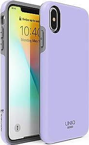 "TEAM LUXURY iPhone Xs Max case, [UNIQ Series] Ultra Defender Shockproof Hybrid Slim Protective Cover Phone Case for Apple iPhone Xs MAX 6.5"" - Lavender Purple"