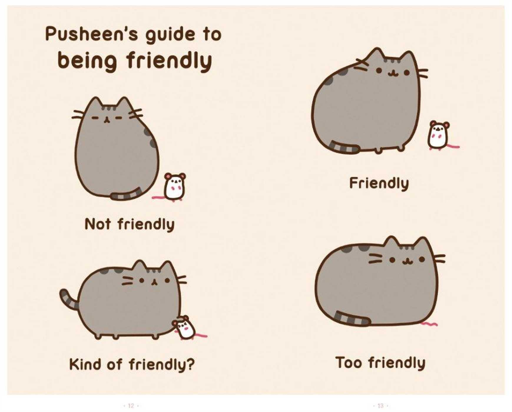 I Am Pusheen The Cat A Pusheen Book Claire Belton