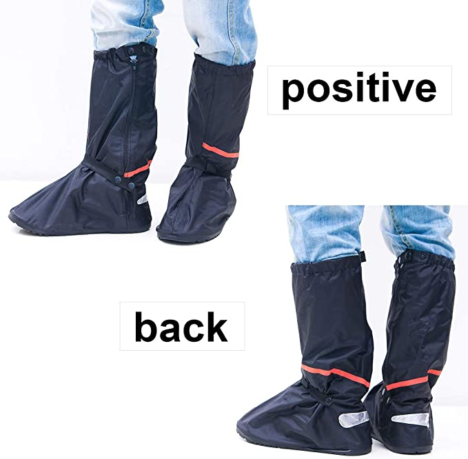 DSTong Overshoes Rain Boots Waterproof Shoe Covers Reusable Rain Boots Protective Gear for Men and Women Galoshes