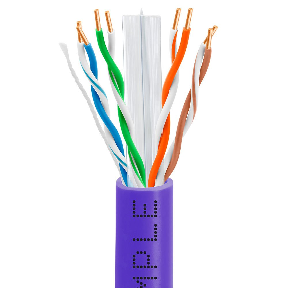 Amazon.com: Cmple - CAT6 BULK 23AWG ETHERNET LAN NETWORK CABLE ...