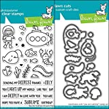 ShopForAllYou Stamping & Embossing (Stamp & Die Bundle)''You are Sublime'' Clear Stamps Only OR Stamp