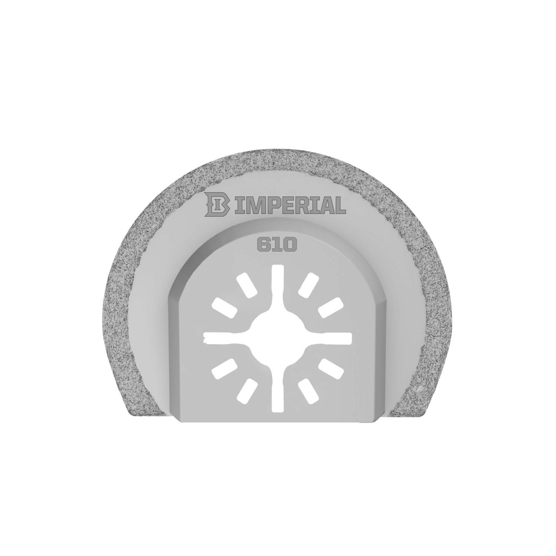 Imperial Blades MM610 2-1/2-Inch Flush Cut Segmented Universal Oscillating Carbide Blade