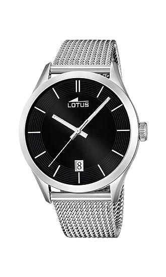 2bfc7dc6205f Lotus 18108 2 - Reloj de Pulsera analógico para Hombre (Mecanismo de Cuarzo