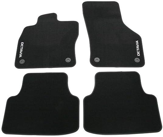 Skoda 5e1061404c Textilfußmatten Schwarz Auto