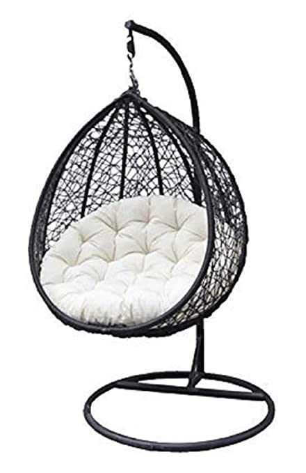 Jgs Metal Single Seater Swing Chair For Home Balcony Outdoor