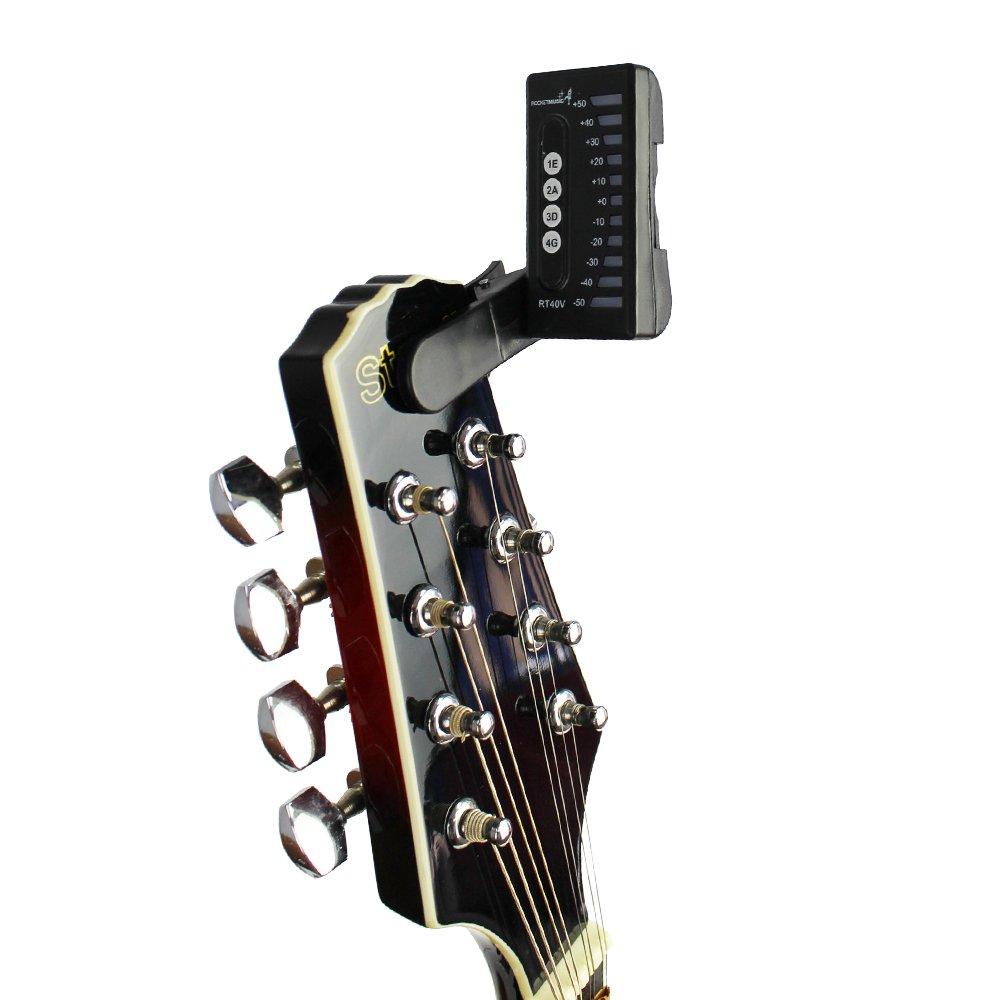 Rocket RT40V Accordatore Digitale a Clip per Violino e Mandolino
