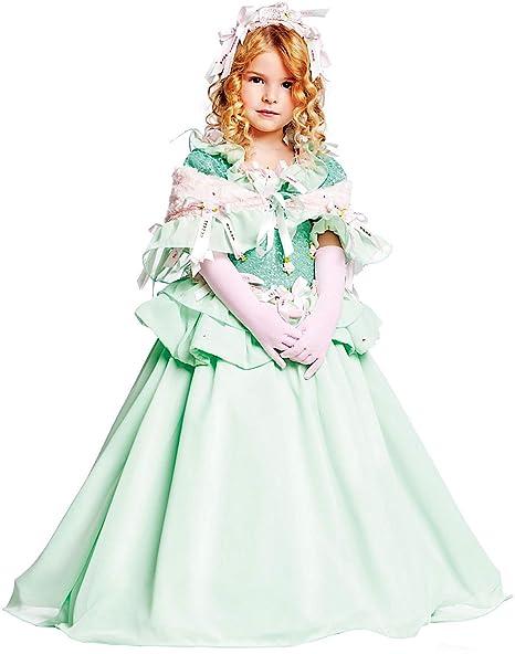 Costume di Carnevale da LA Principessa ADDORMENTATA Vestito per Ragazza  Bambina 7-10 Anni Travestimento c56efa79cfa